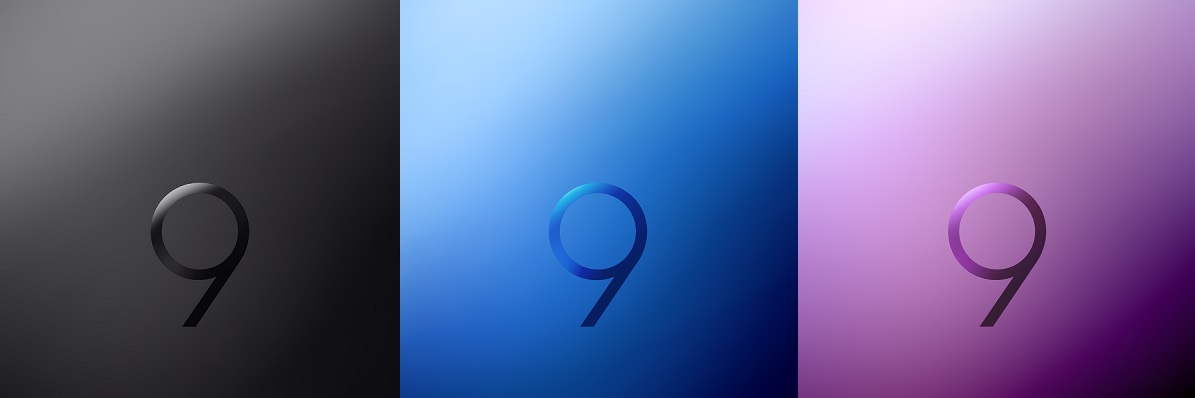 Download the official Samsung Galaxy S9 wallpapers here