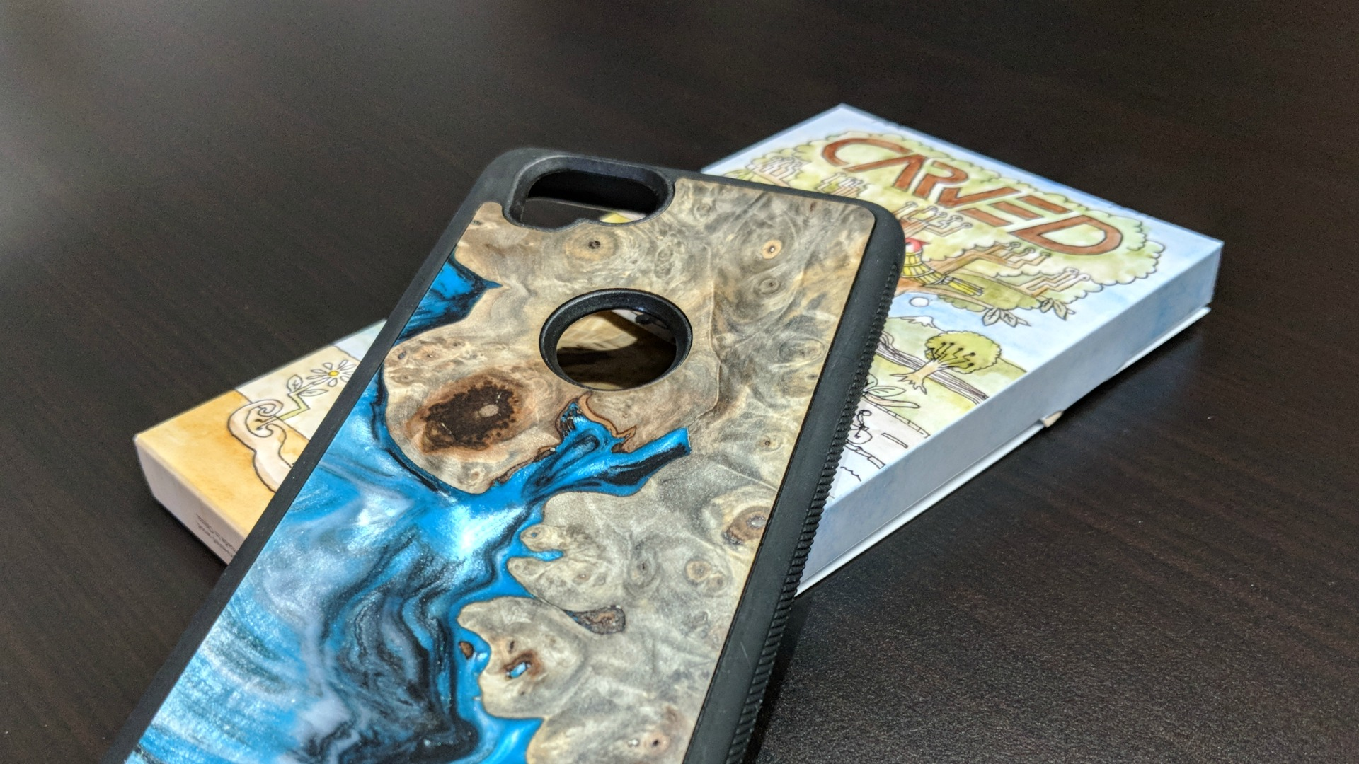 sports shoes 74f60 42f55 Gear Up: Carved wood phone cases for Pixel 2 and other smartphones