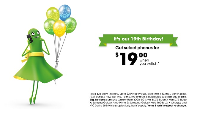 Cricket Wireless Turns 19 And Celebrates With Deals