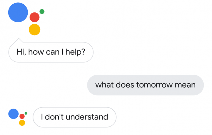 Google Assistant tomorrow