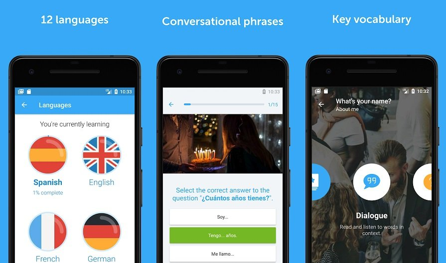 Seven language apps for when you want to learn to speak a