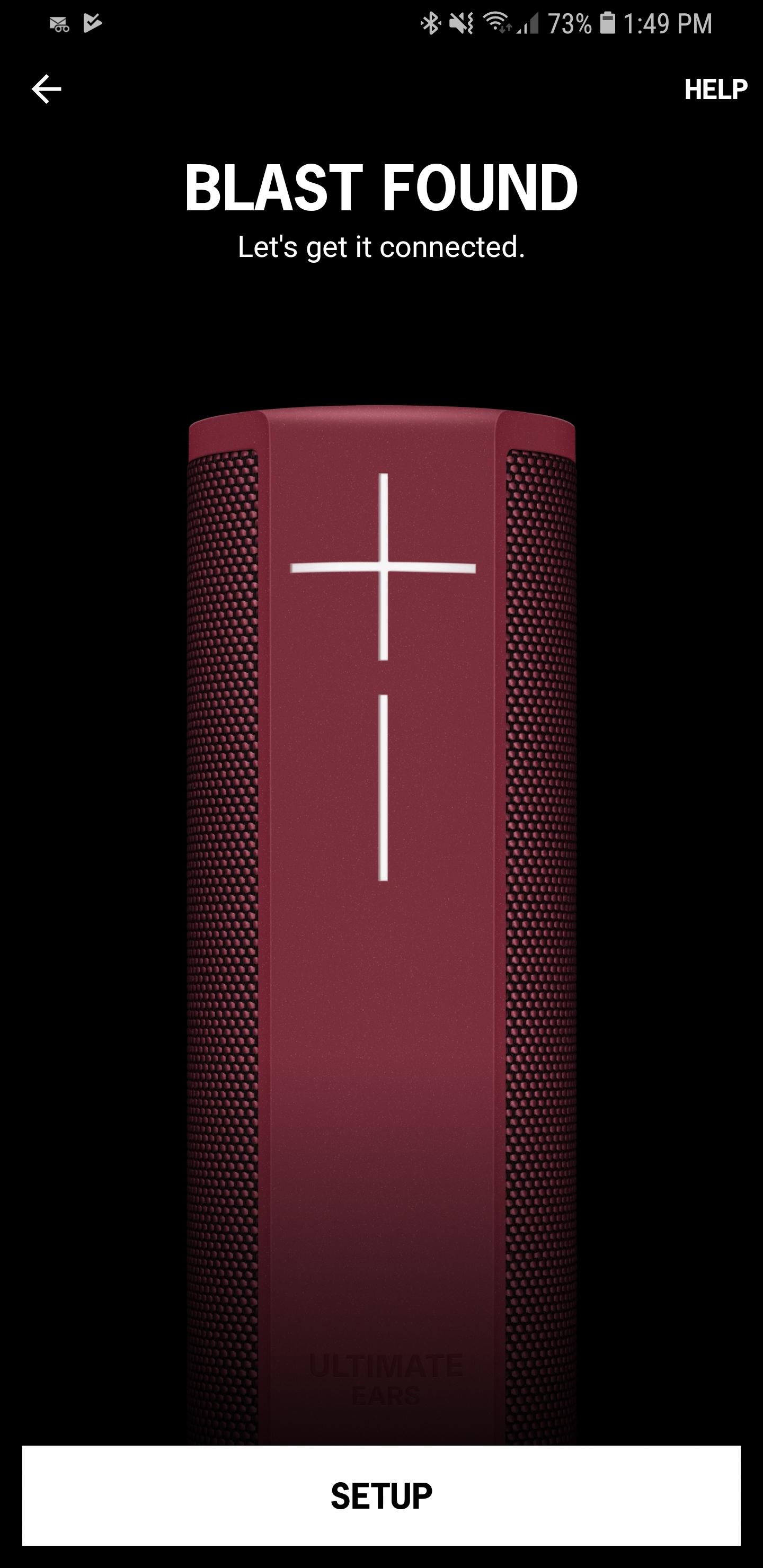 UE Blast Speaker