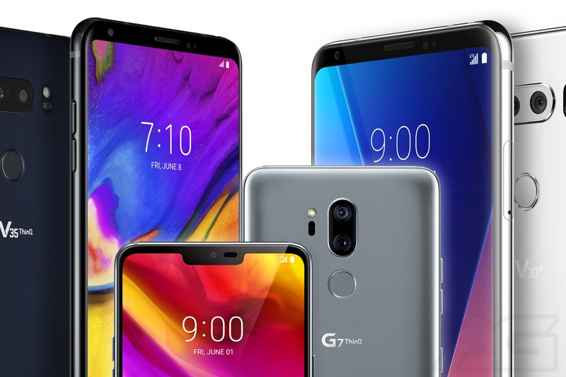 What's the difference: LG V30 vs LG G7 ThinQ vs LG V35 ThinQ