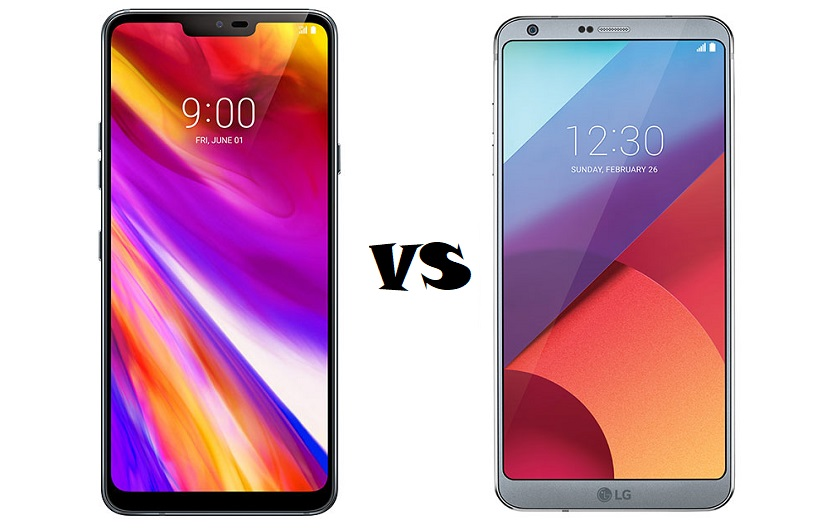 What's the difference: LG G7 ThinQ versus LG G6