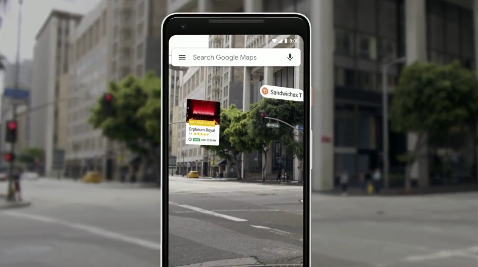 Google Maps to get updated with new istant, AR, and ... on