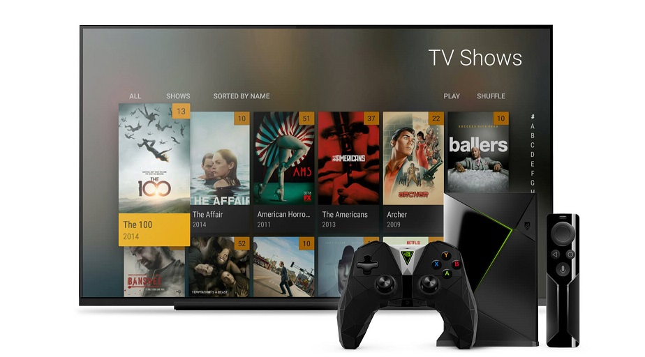 Plex for NVIDIA Shield updated with external storage support