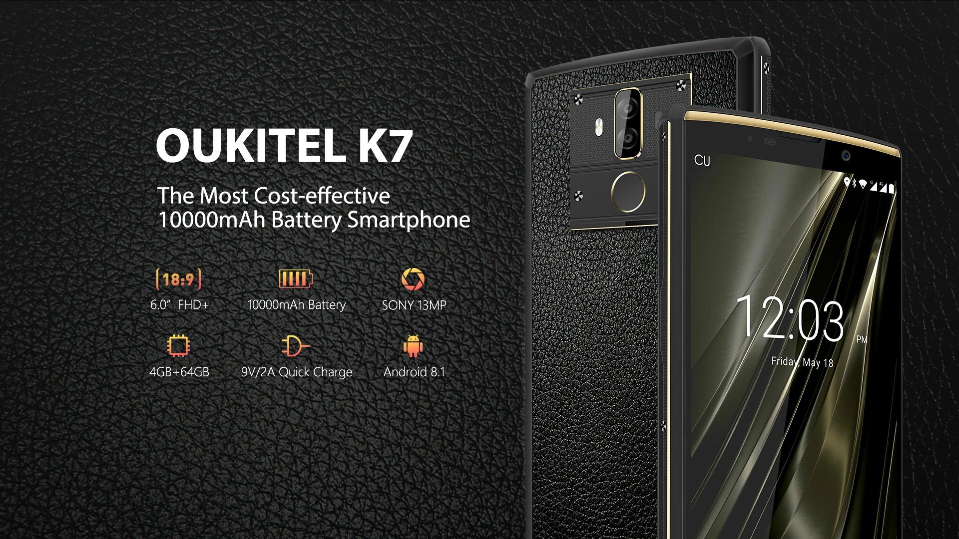 Resultado de imagen para Oukitel K7