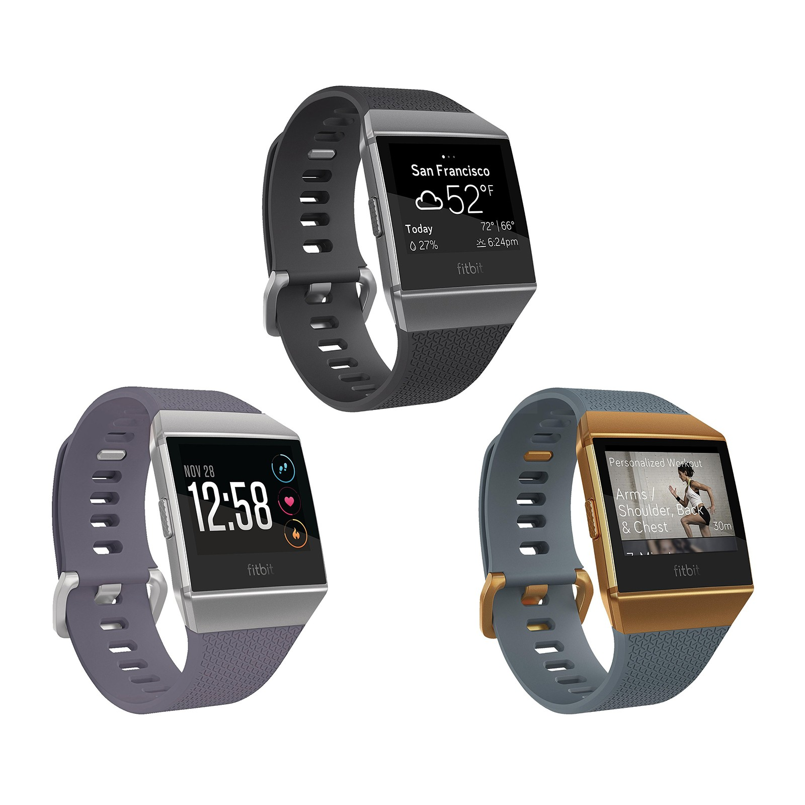 Save 28% on the Fitbit Ionic fitness smartwatch
