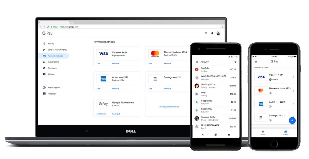 Google Pay Web