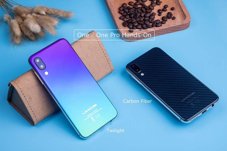 UMIDIGI One and One Pro compact flagships show up in hands
