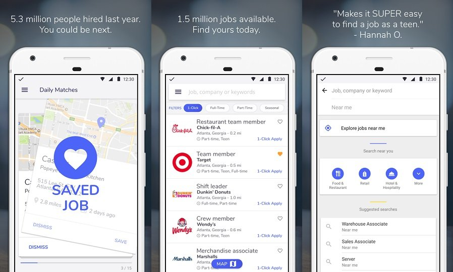 best android apps for finding you a new and exicing job fast