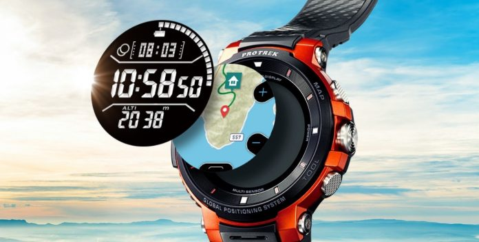 Casio announces their PRO TEK WSD-F30 smartwatch with ...