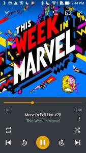 Plex podcasts