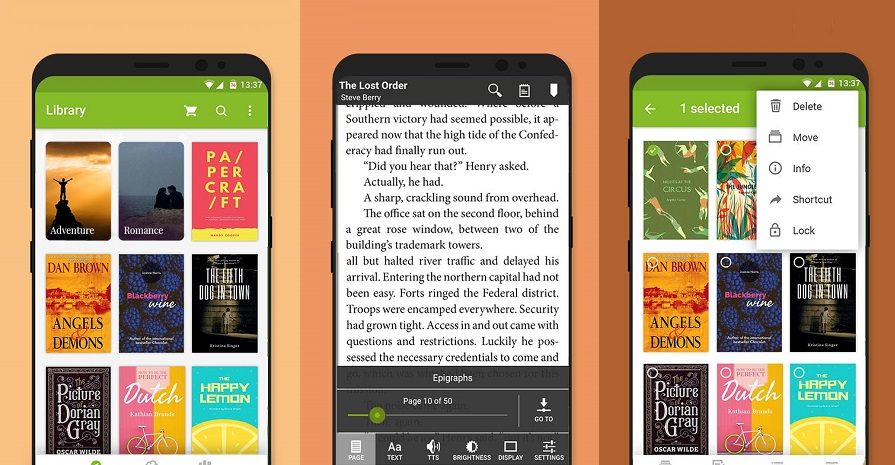 The best ebook reading apps for Android you should check out