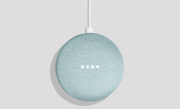 Google Home Mini gets a new Aqua color option, coming soon