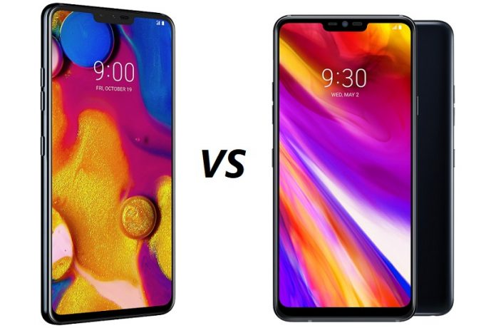 LG V40 ThinQ vs LG G7 ThinQ: What's the difference?