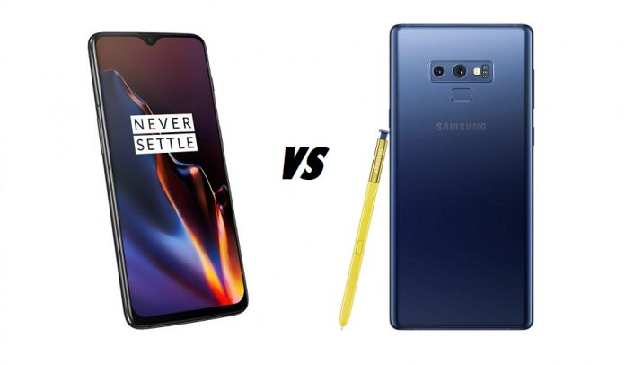 What should you get? OnePlus 6T vs Samsung Galaxy Note 9