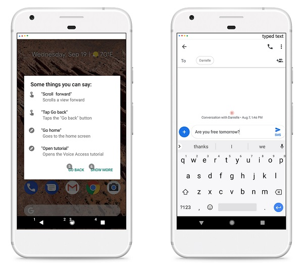 Google launches Voice Access to help people with mobility challenges