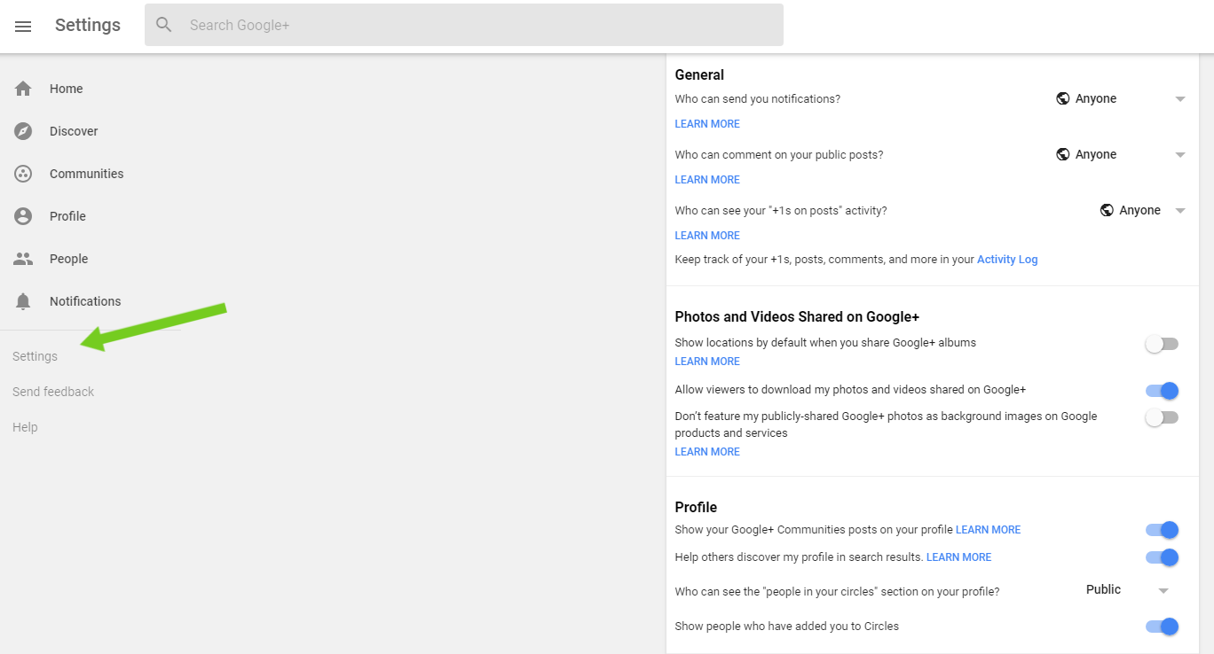 How to permanently delete your Google Plus account