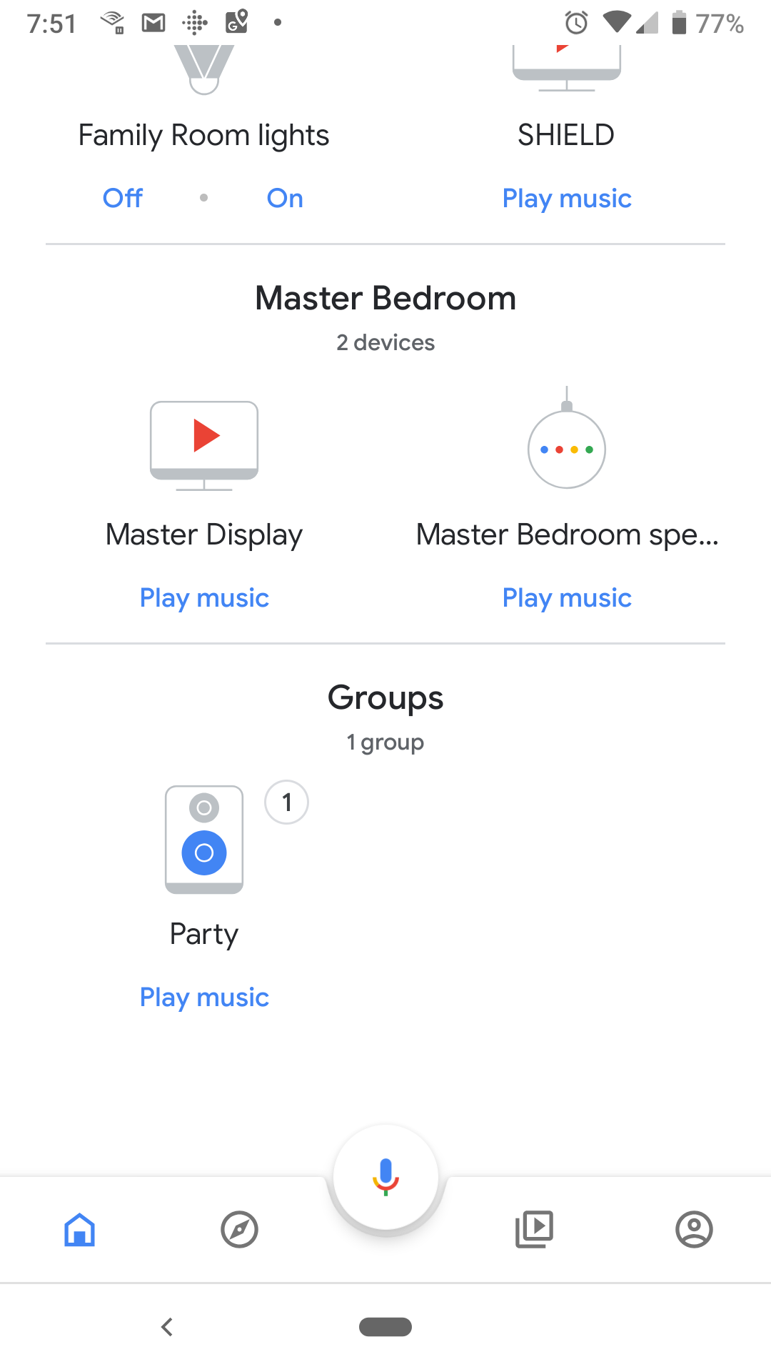 How to stream audio to multiple rooms through Google Home