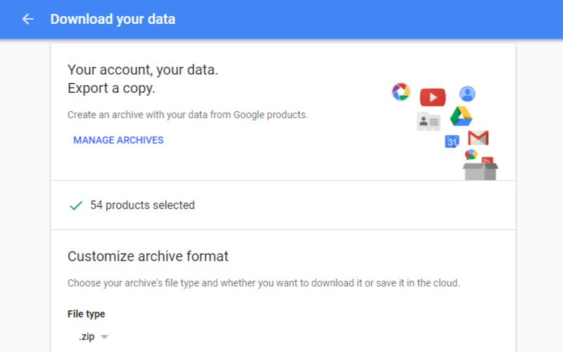 Google Takeout What Is It And How Do You Use It Androidguys