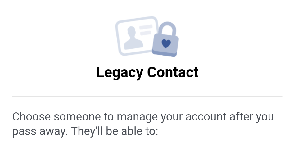 how to create a legacy
