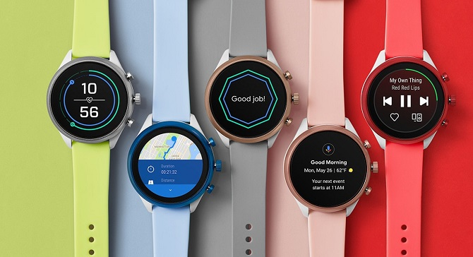 QnA VBage Fossil's first Snapdragon Wear 3100-based smartwatch is a colorful and sporty one