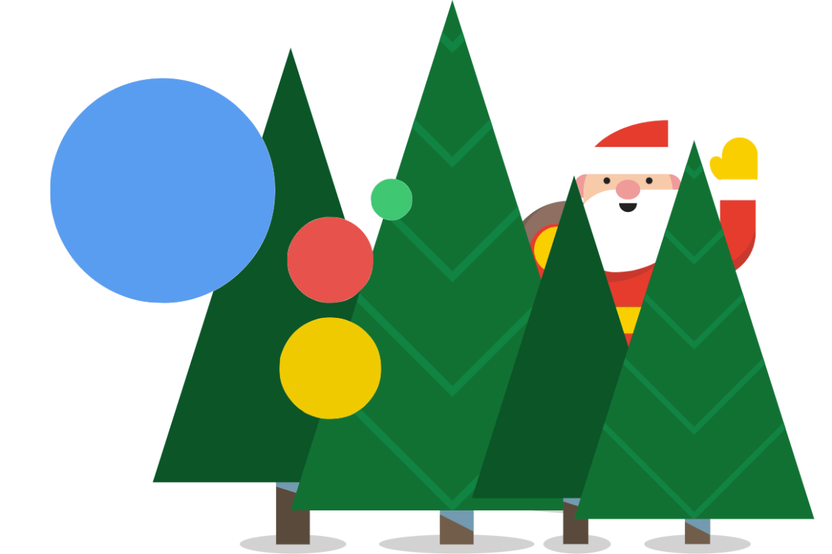 You can now call Santa Claus with Google Assistant