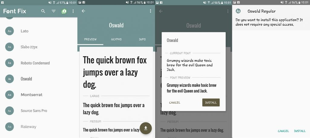 How to change the font on your Android phone (no root)