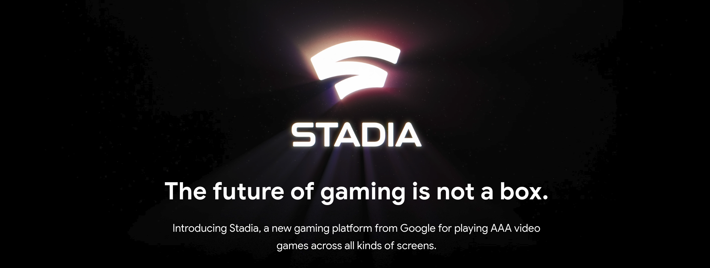 Game On Google Stadia Debuts As Cloud Based Gaming Service