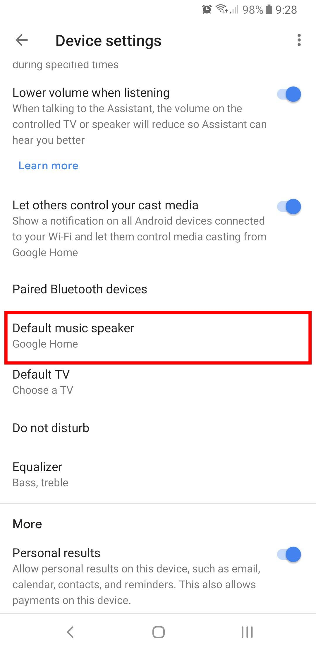 How to pair a Bluetooth speaker with your Google Home or