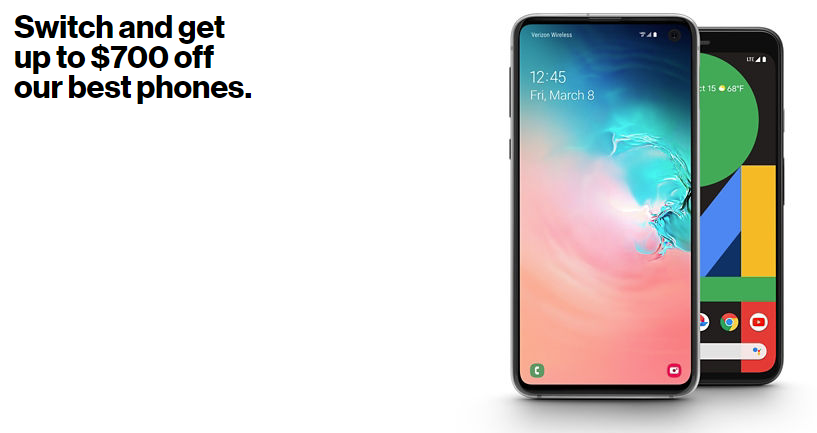 The Best Deals Available At Verizon January 2020