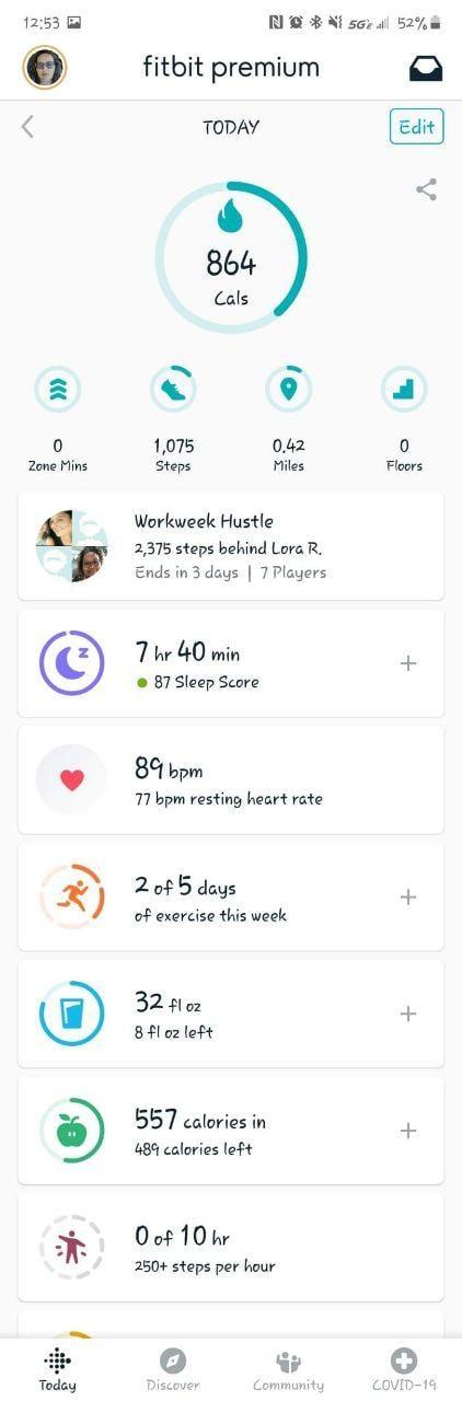 Fitbit App