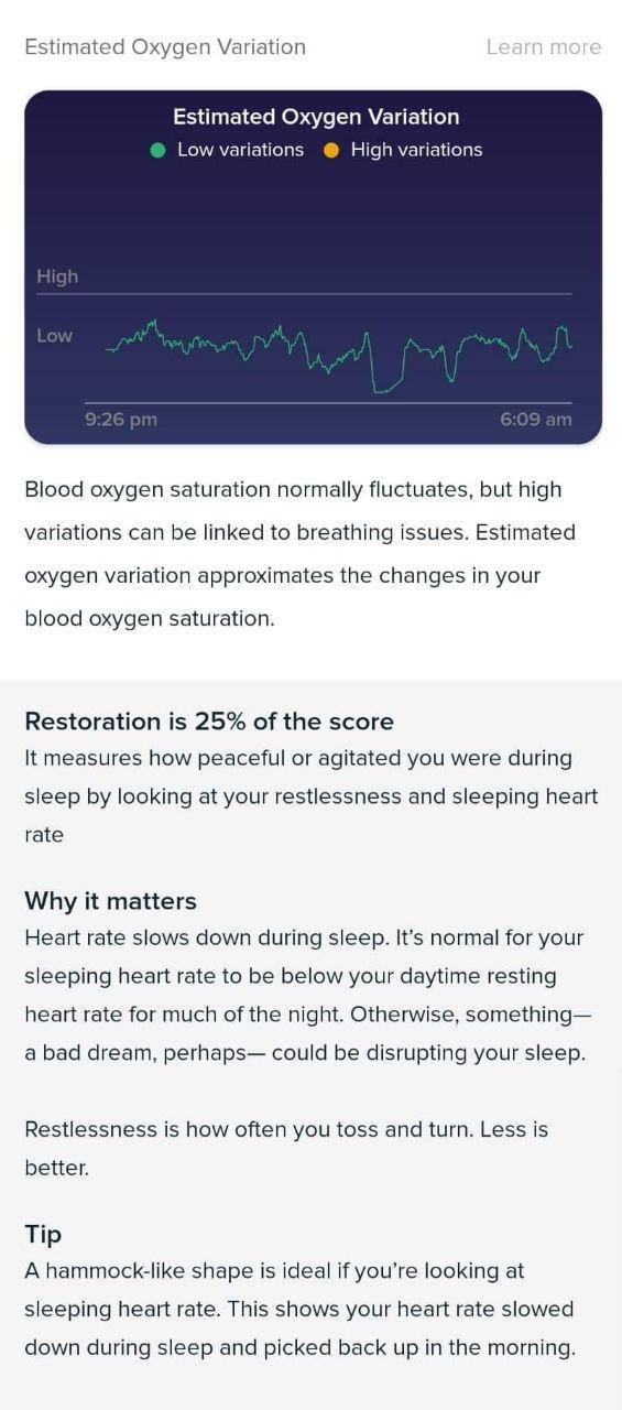 Oxygen Variation