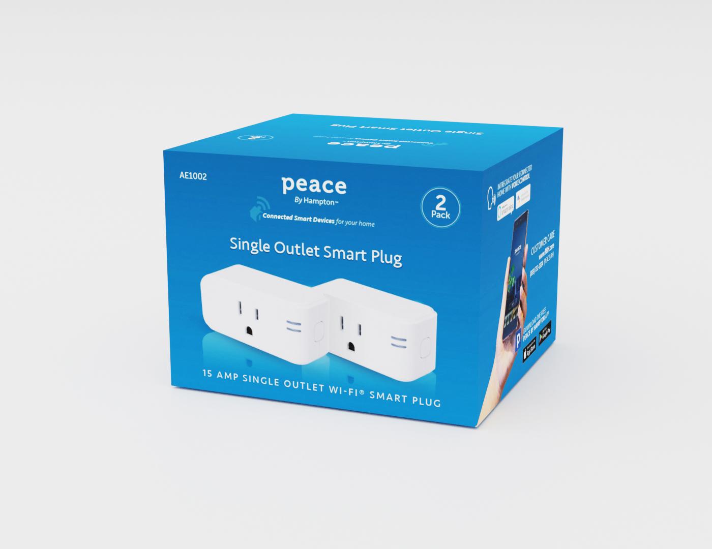 Peace By Hampton Smart Plug