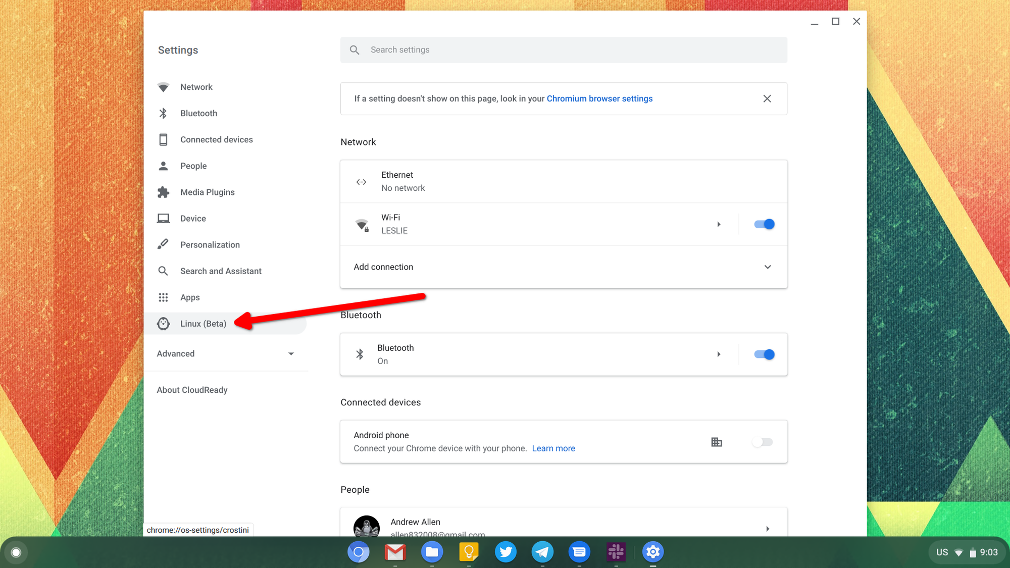 How To Enable Linux Apps On Chrome Os