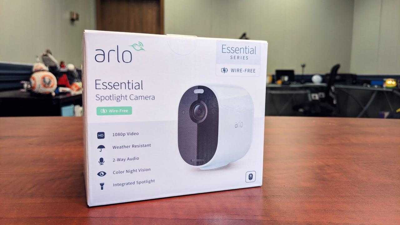 Arlo Essential Spotlight Camera review