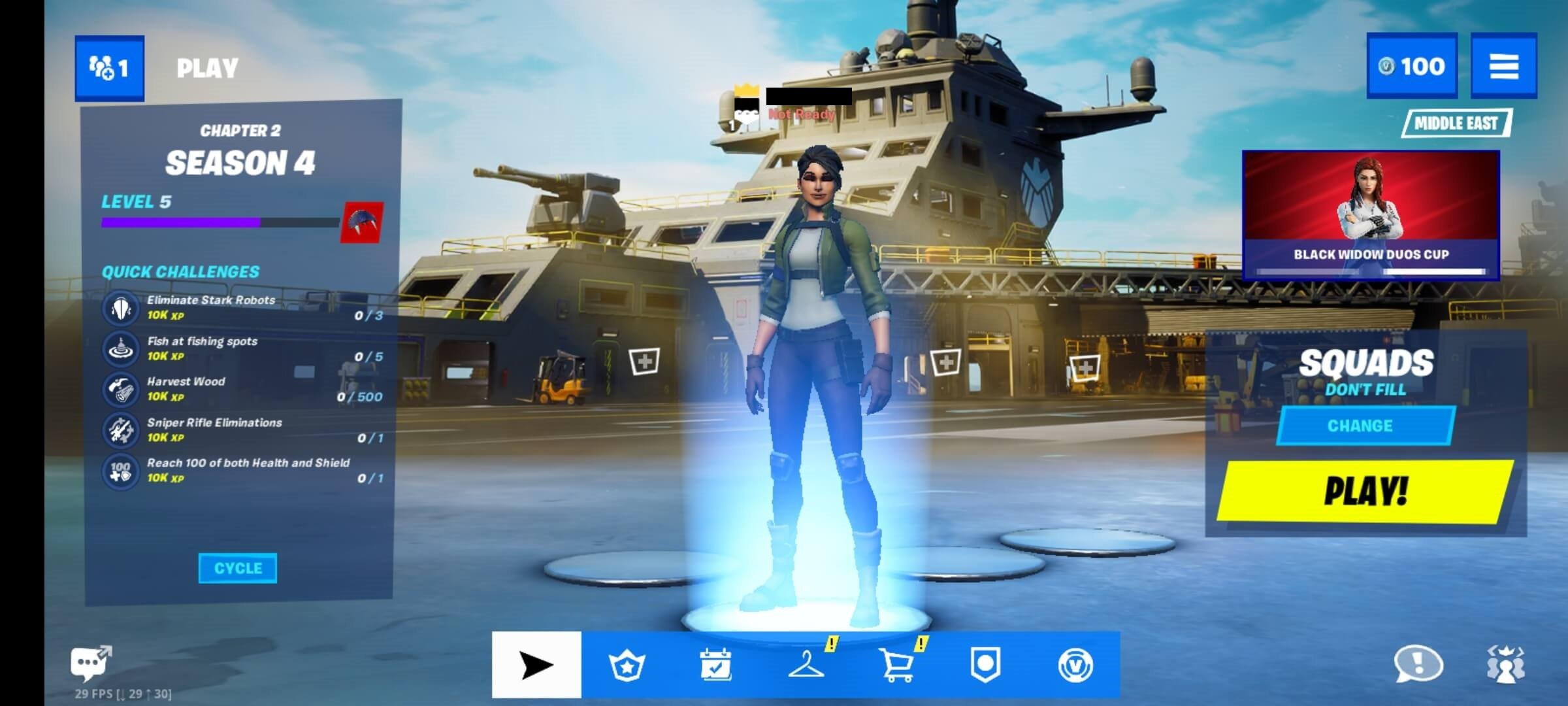 How to crossplay Fortnite on Mobile with other platforms