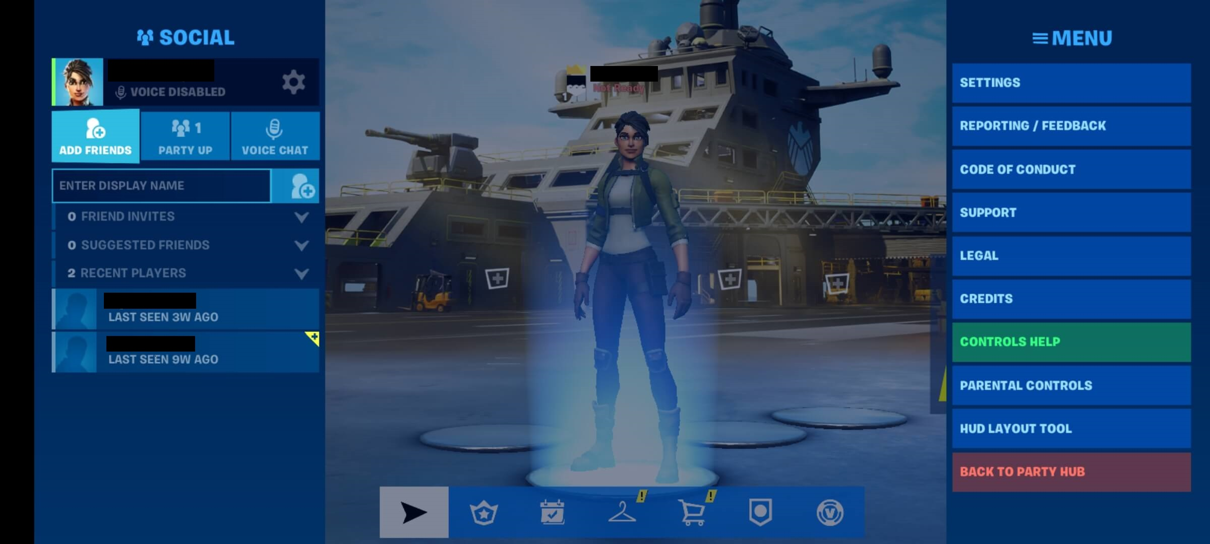 Accept Friend Request Pc Ps4 Fortnite How To Crossplay Fortnite On Mobile With Other Platforms