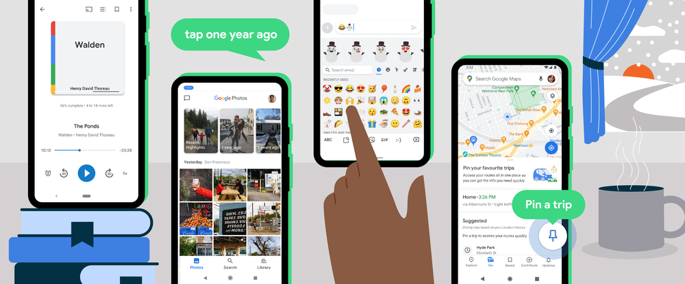 Google 6 new features