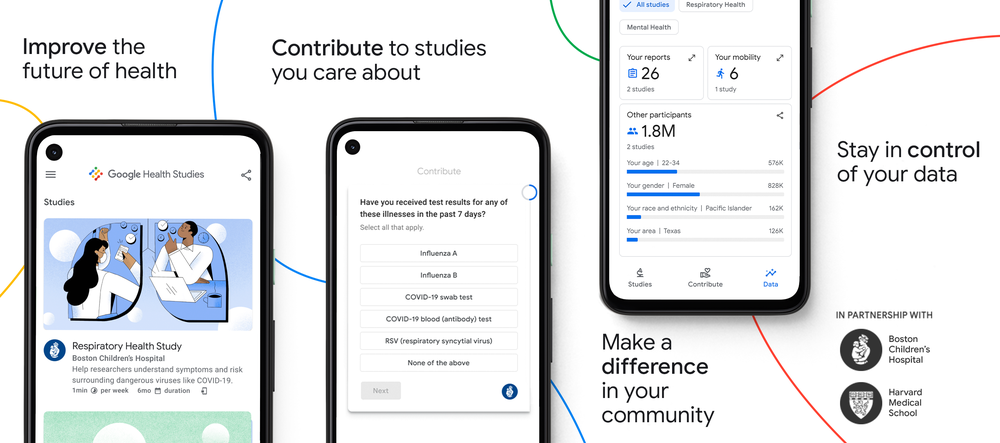 Google Health Studies Banner