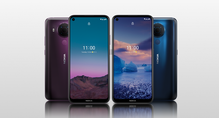 Nokia 5.4 Color Options