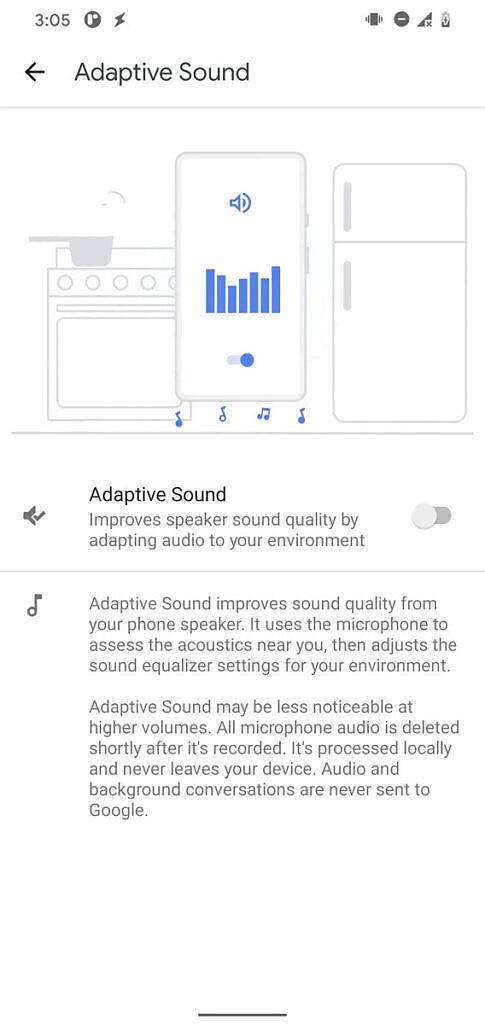 Adaptive Sound
