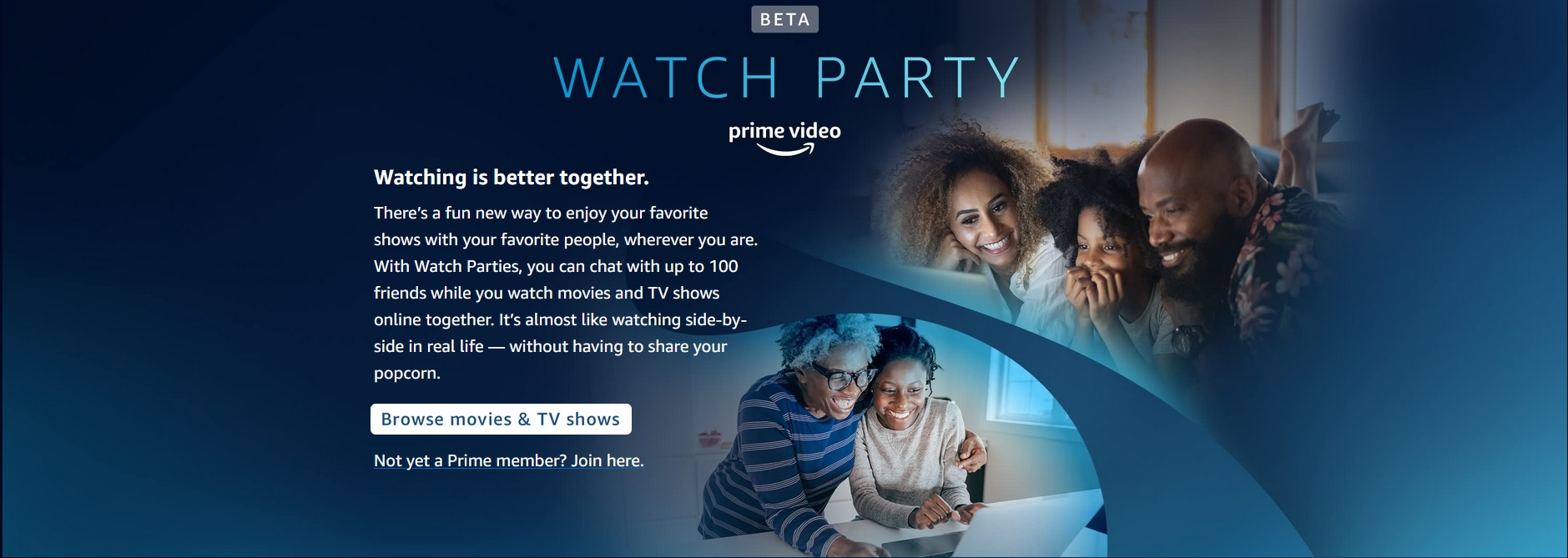 How to use Watch Party with Amazon Prime Video to stream videos together online