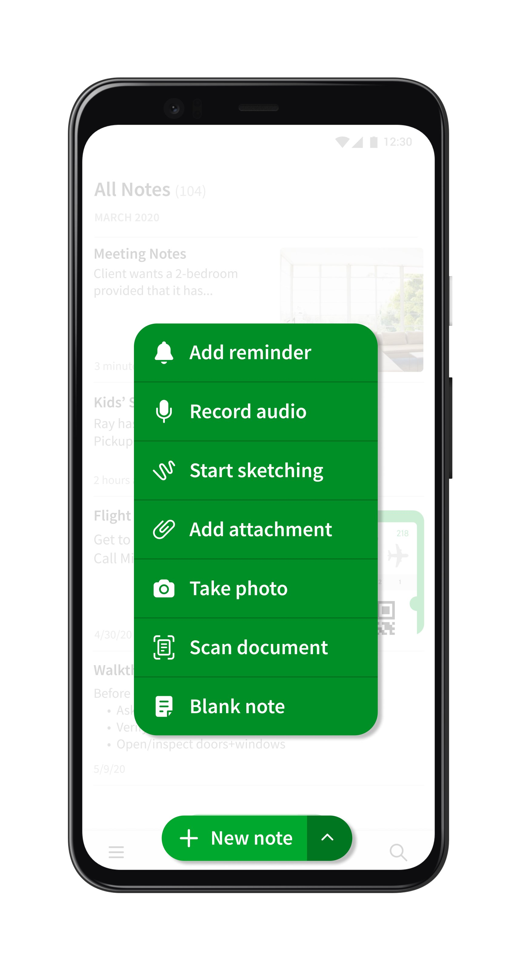 Evernote 2020 Notes Button