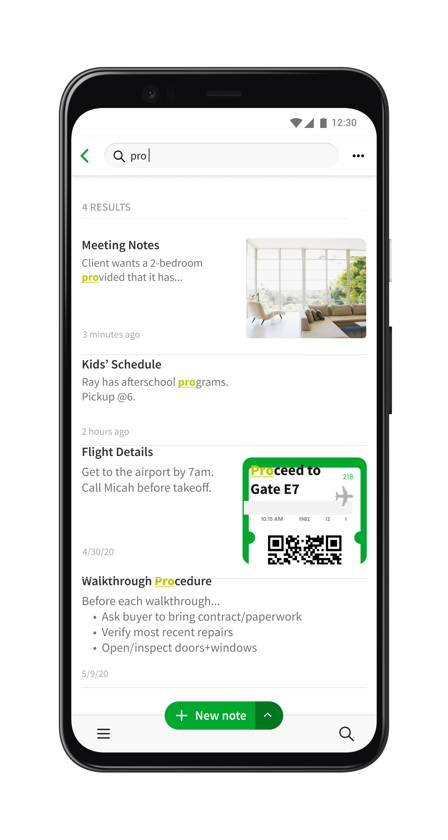 Evernote 2020 Search