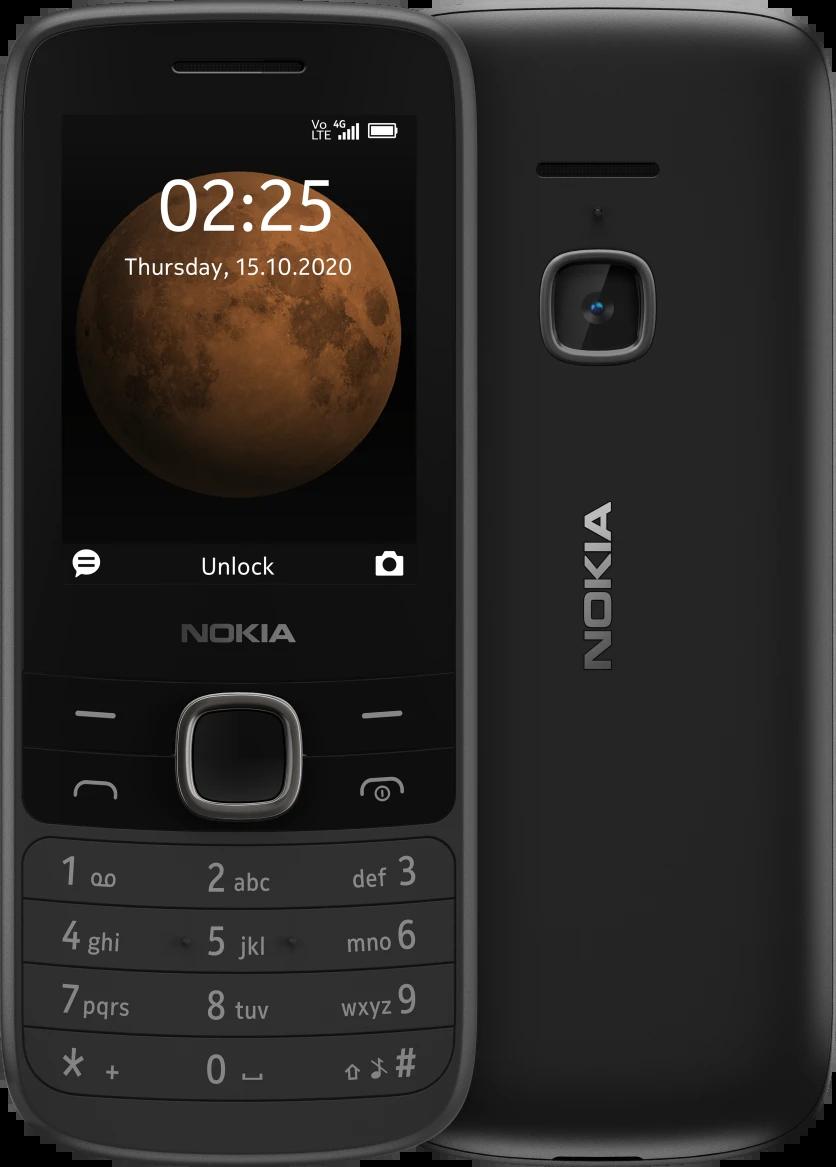 Nokia 225 4G Front & Back
