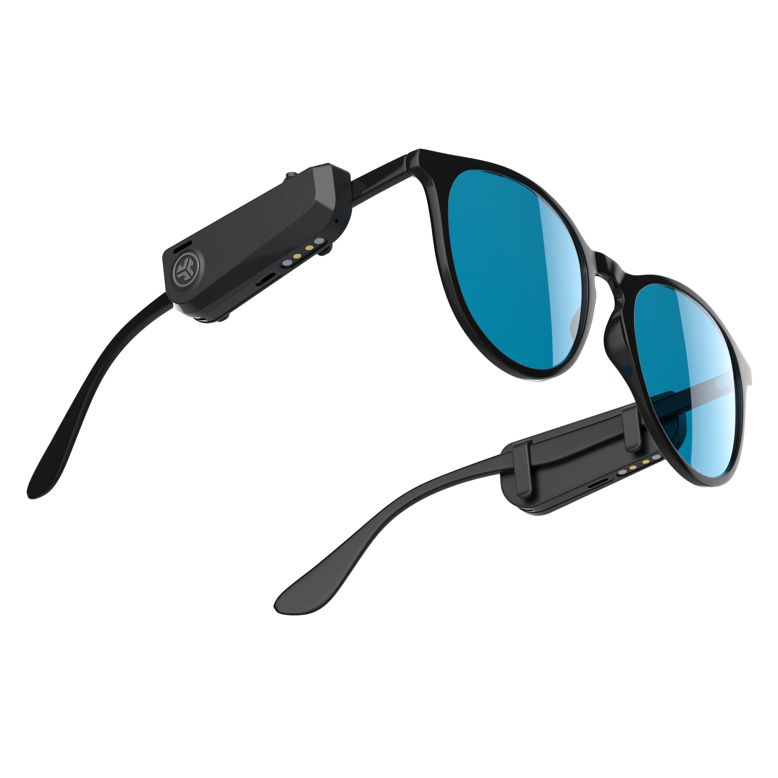 JLab Jbuds Frames on sunglasses