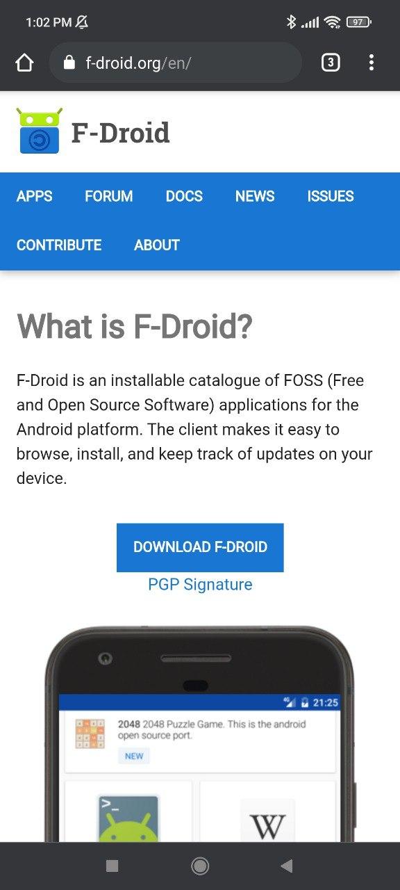 F-Droid Website